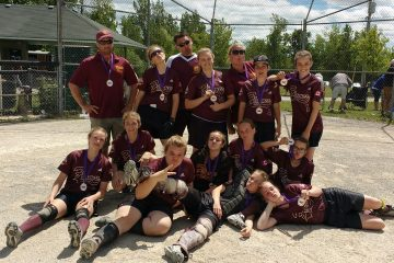Bronze medal winners of the Milton U14 Select Tournament
